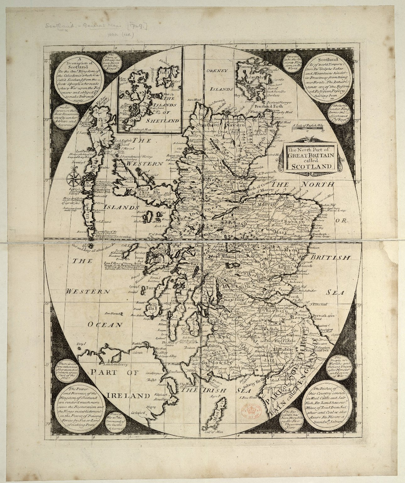 The North Part of Great Britain called Scotland [1 of 1]