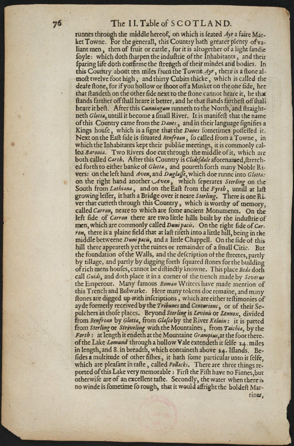 Scotiae tabula II [1 of 2]