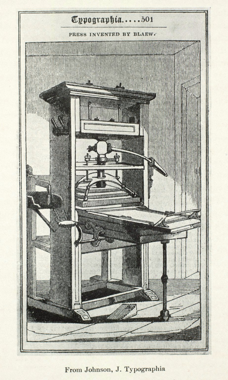 [Printing press invented by Willem Janzoon Blaeu]. [1 of 1]