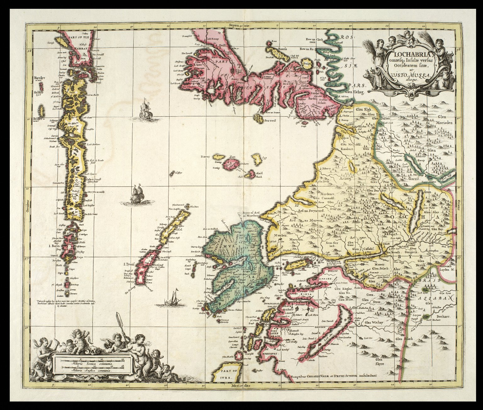 Lochabria, omnesq insulae versus occidentem sitae, ut Uisto, Mulla, aliceque. [1 of 1]