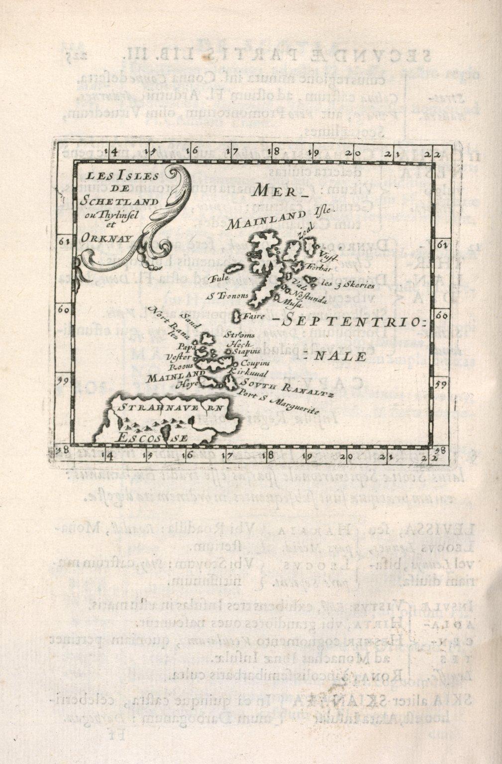 Les Isles de Schetland ou Thylinsel et Orknay [1 of 1]