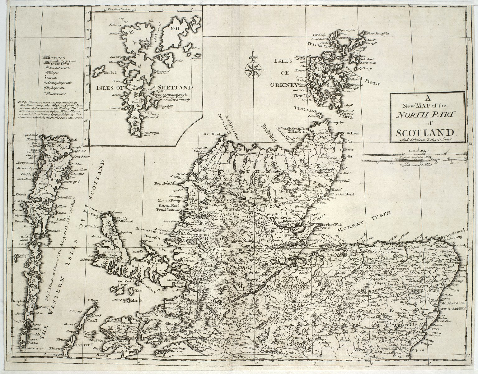 A New Map of the North Part of Scotland. [1 of 1]