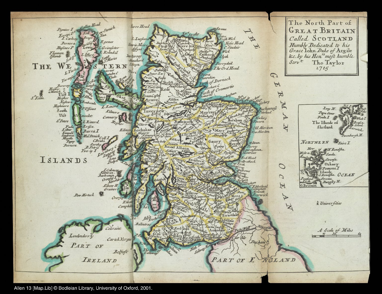 The north part of Great Britain called Scotland ... [1 of 1]