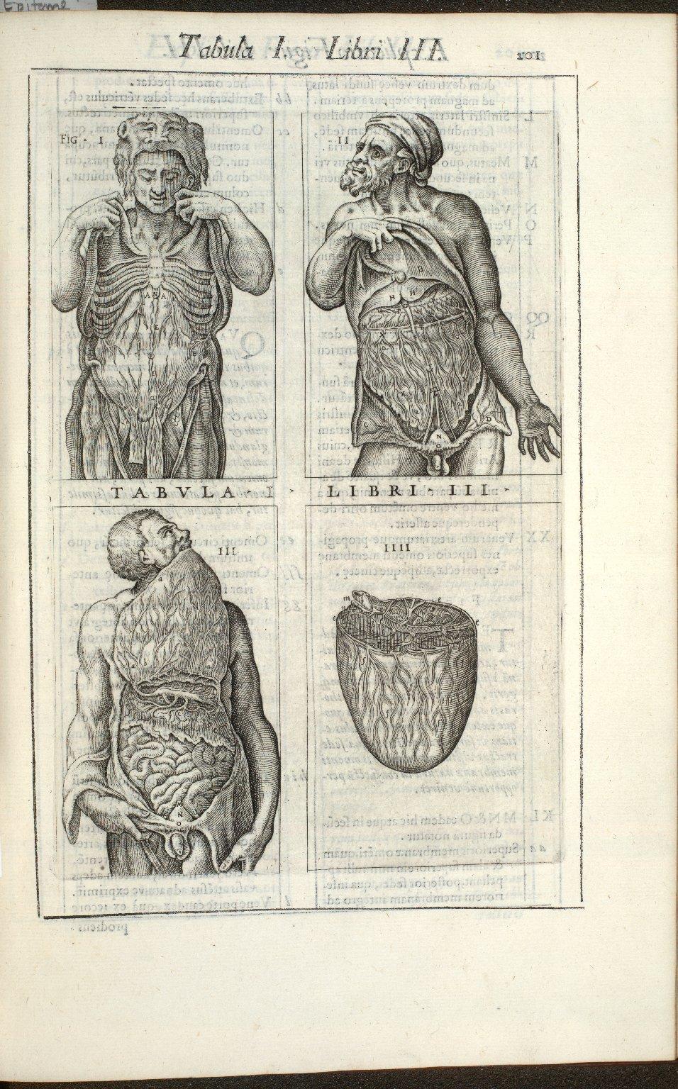 Tabula I. Libri III.