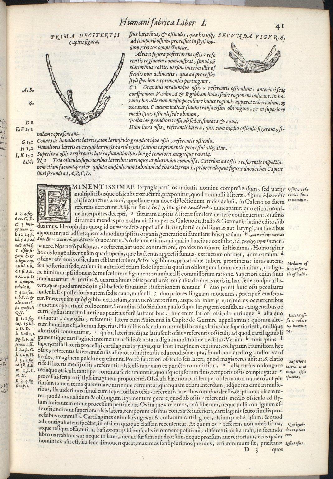De Osse v. Graecorum Literae imagini comparato. Caput XIII. Fig.I-II